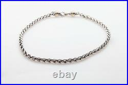 $2000 David Yurman Signed 14k Yellow Gold Sterling Silver Necklace