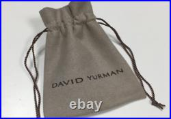 Classic David You Man cable cross necklace 925 sterling silver necklace cross