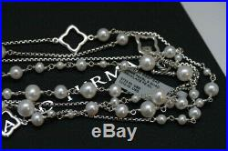 DAVID YURMAN New Bijoux Long Chain Necklace with Pearls 48