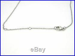 David Yurman 18k White Gold 16,17,18 (Adjustable) Oval Link Chain Necklace NWT