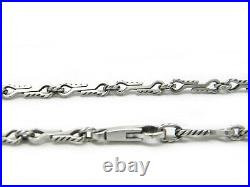David Yurman 26 Mens Shipwreck Cable Chain Necklace in Sterling Silver NWT