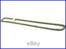 David Yurman 3.6mm Titanium Box Chain Necklace withSterling Silver Clasp 26 NWT