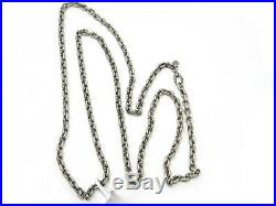 David Yurman 36 inch Mini Linked Chain Necklace in Sterling Silver NWT