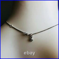 David Yurman Sterling Silver Chatelaine with pearl pendant necklace