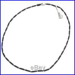 New DAVID YURMAN Men's Royal Cord Chain 22 Necklace Black Titanium Silver NWT
